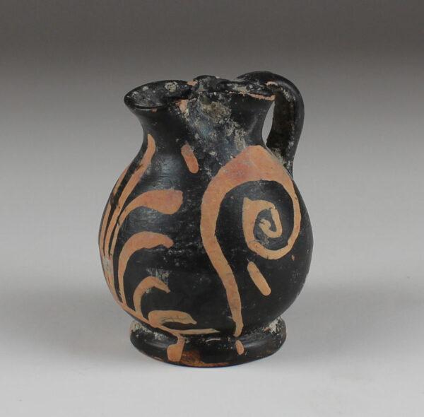 Greek miniature oinochoe